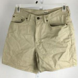 L.L. Bean denim shorts womens size 10 Reg